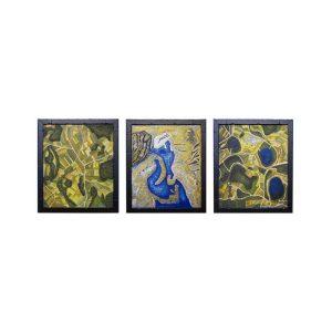Triptychon Vogelperspektive