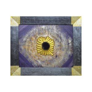 Relief Sonnenblume