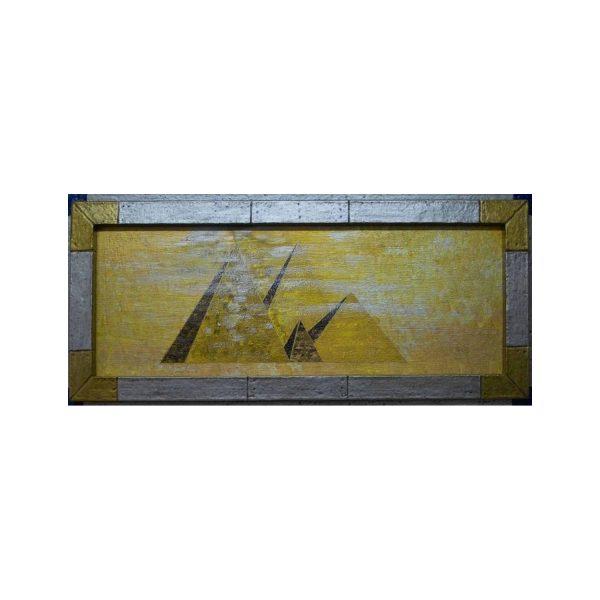 Pyramiden im goldenen Licht